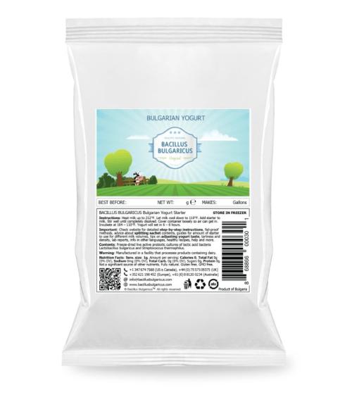 Bulgarian Yoghurt startercultures.eu