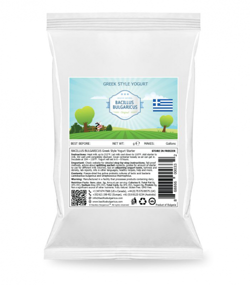 Greek yoghurt startercultures.eu