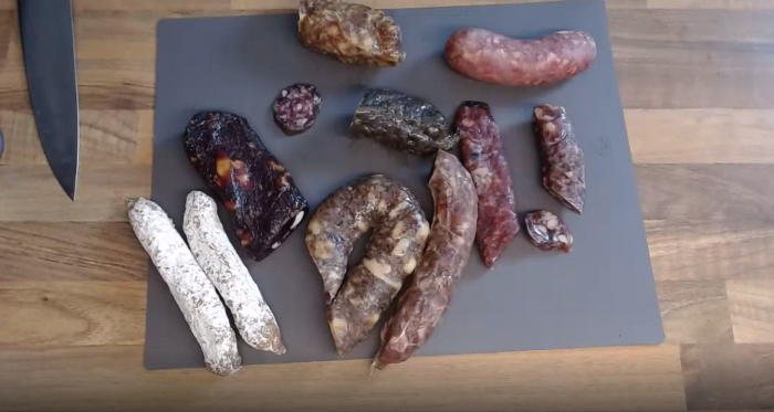 Online workshop make your own dry cured sausages
