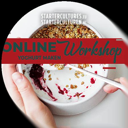 Online workshop yoghurt maken