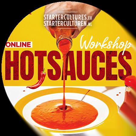 Online workshop gefermenteerde hotsauces