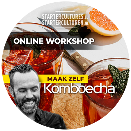 online workshop komboecha maken