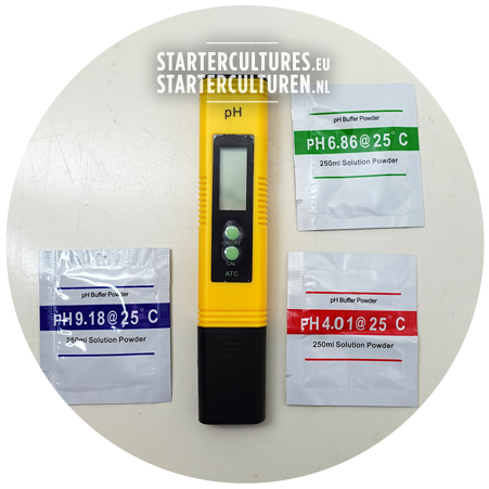 pH meter for fermentation