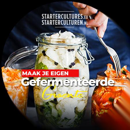 Online workshop groente fermenteren