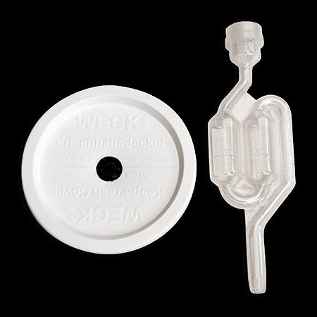 weckjar lid + waterlock