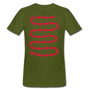 I heart sausages startercultures.eu t-shirt